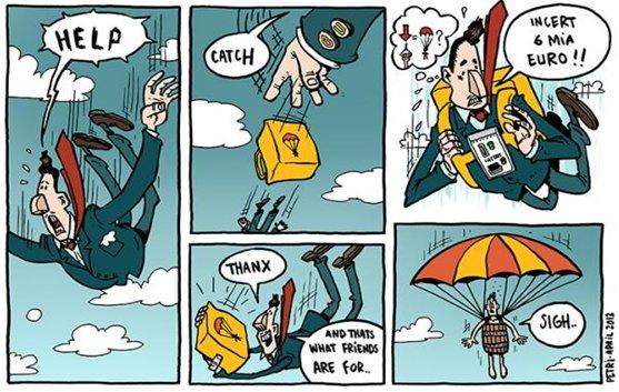 Politisk satire på Copenhagen Comics