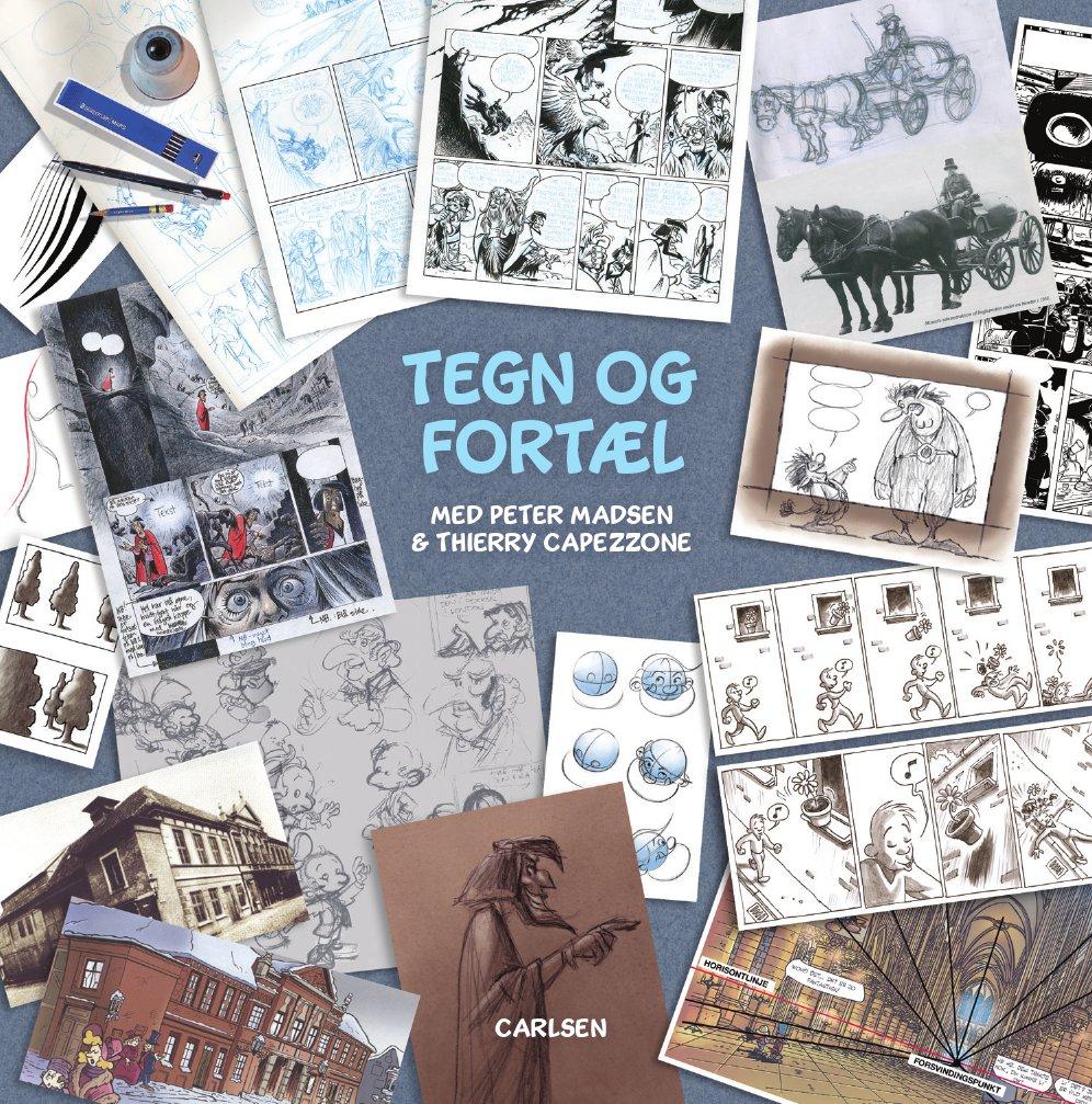 Tegneseriedag på Frederiksberg